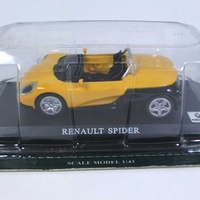 Renault spider in yellow and black