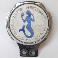 Vintage classic car badge club anglais in very good condition.