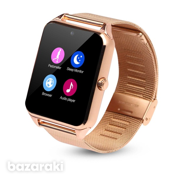 Smart watch stainless steel for android ios iphone-1