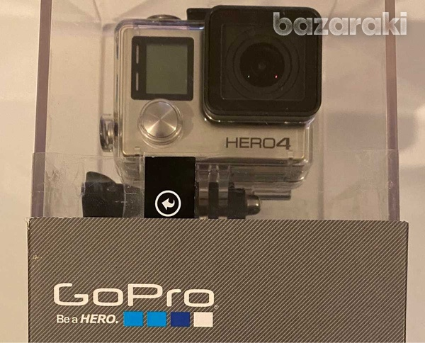 Gopro hero 4 silver with original accessories-2