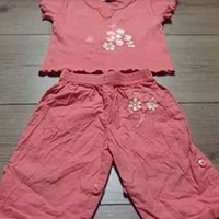 Baby girl's two piece trouser set 6-12 months
