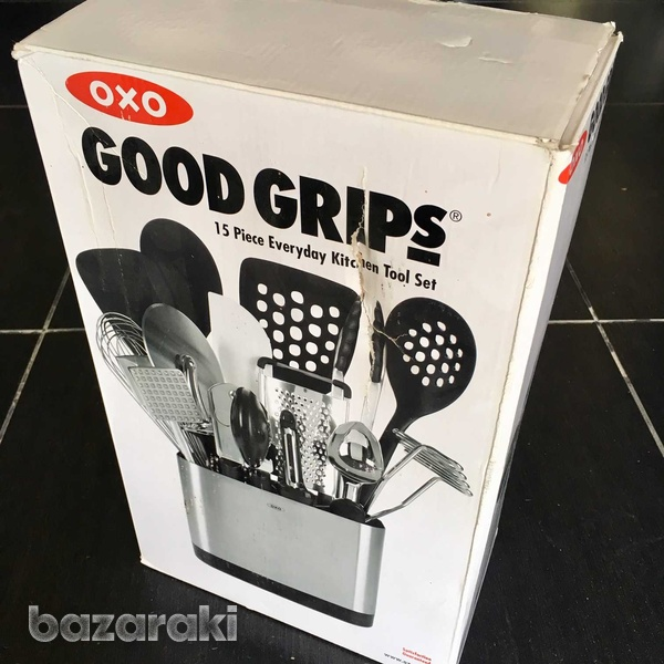 Oxo 15 piece everyday kitchen tool set new-2