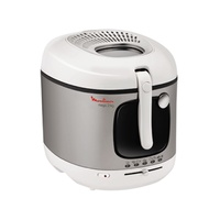 Moulinex am4800 mega deep fryer with removable bowl, 2100w, 3.3l, whit