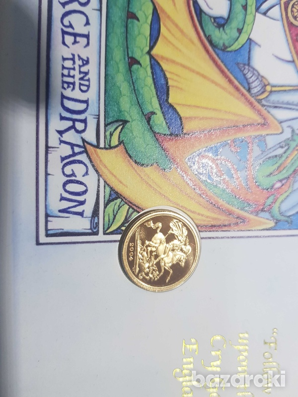 The 2004 st. george and the dragon gold sovereign-2
