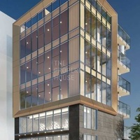 New 4 storey commercial building and shops - limassol center