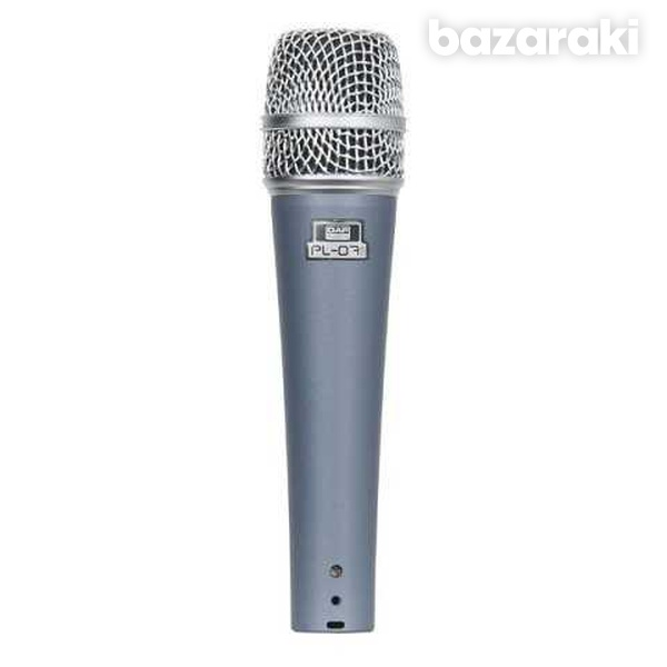 Pl 07b microphone with 6mtr microphone cable