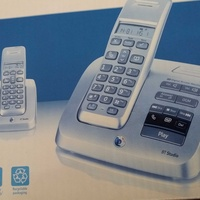 Twin digital cordless telephone plus answering machine