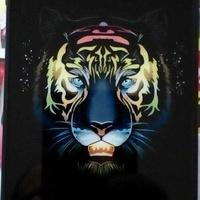 New luxury luminous painting case for iphone 7/8 pluse