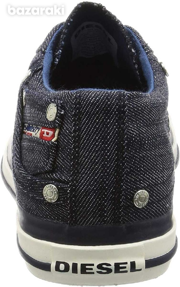 New,diesel casual denim lace-up new shoes size 42-5