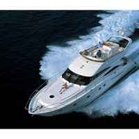 Luxury yacht princess 61 for private charters in protaras