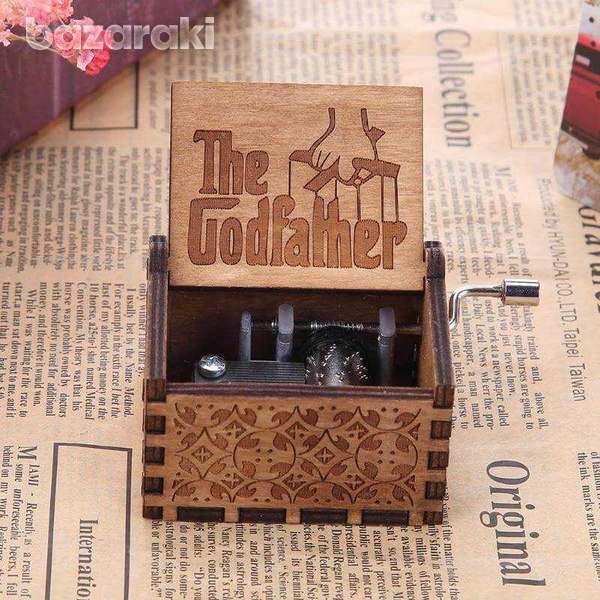 Wooden music box-4