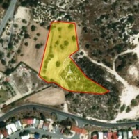 Building land of 8,052 m2 300 m from the beach