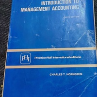 Collectors item. introduction to management accounting
