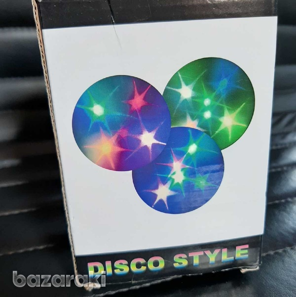 Disco style led party lamp-6