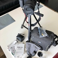 Canon d70 with lots of accessories