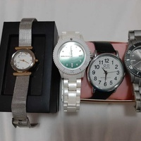 Bunch of used watches