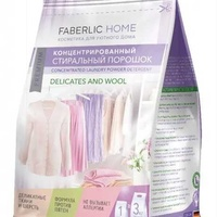Faberlic. concentrated laudry detergent for delicate fabrics and wool