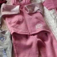 Baby girl's pink tracksuit 12-18 months