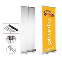 Banner stand or advertising stand