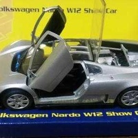 Collectors volkswagen nardo w12 show car 1 24