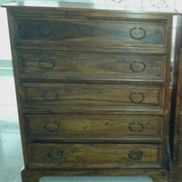 Chest of 5 draws no shipping abroad