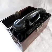 Old russian phone tai 43, ussr field phone 1961