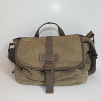 Men messenger khaki color bag