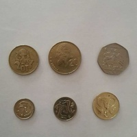 Cyprus old coins set