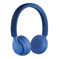 Jam been hx-hp202blthere on-ear wireless bluetooth headphones, blue