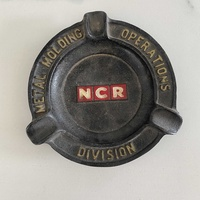 Very old cast iron ashtray ncr
