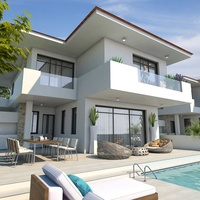 Modern 4 bedroom villa 200 meters from the beach
