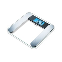 Beurer bf220 glass body analysis diagnostic weighing scale