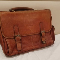 Dr.koffer leather briefcase