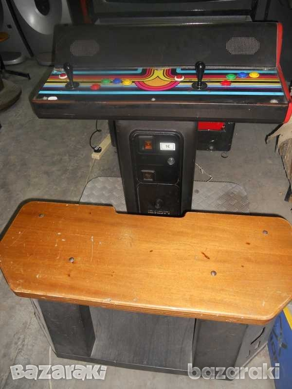 Arcade machine with 28 inch screen and seating-3
